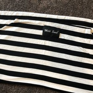 Milk Snob Striped Car Seat/Nursing Cover